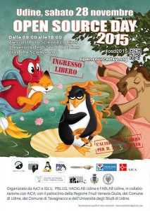 Open Source Day 2015 a Udine